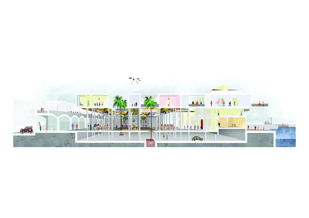 The Waterfront metropolis by Marco Digrandi @ Politecnico di Torino / ENSA Marseille Double Degree Master's Thesis
