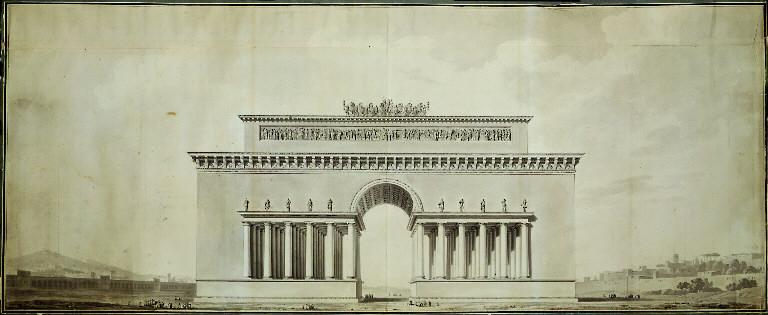 Arc de Triomphe Étienne Louis Boullée.