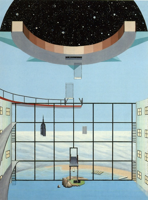Planetarium with Swimming Pool 1975 Rem Koolhaas, Zoe Zengelis, and Elia Zengelis, Hotel Sphinx