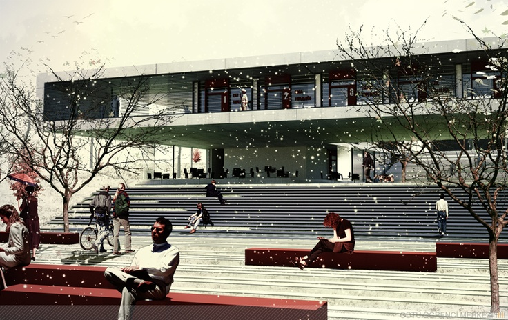 Student Center Public Square Architectural Competition  Onat Öktem Ziya Imren
