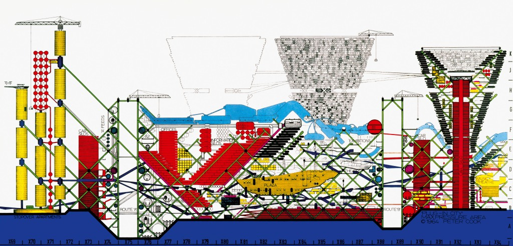 Peter Cook_Archigram The Plug In City
