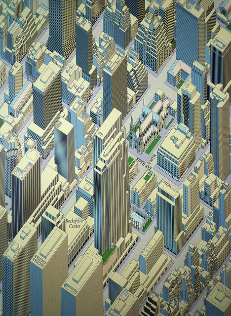 Midtown Manhattan Marcy R. Edelstein For the Graphic Chart and Map Company Inc.