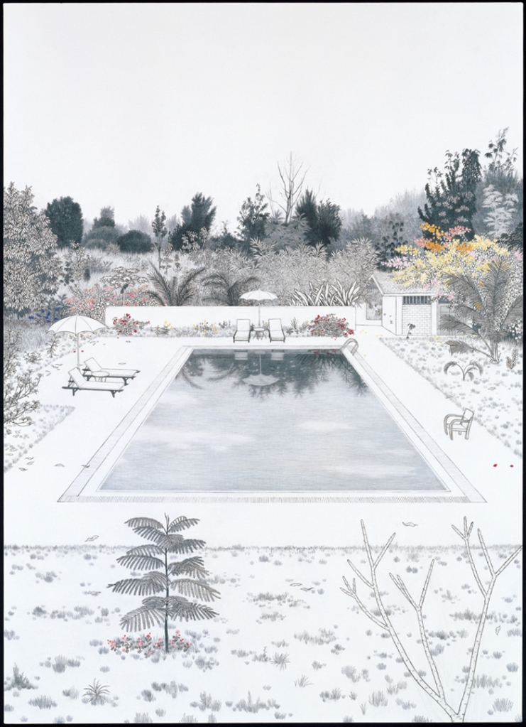 Pool at BAN ROM SAI バーンロンサイのプール 2009