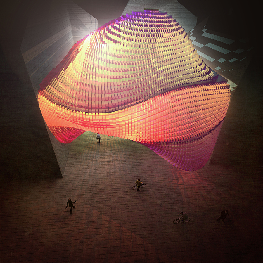 2_Geometrical Blob 3