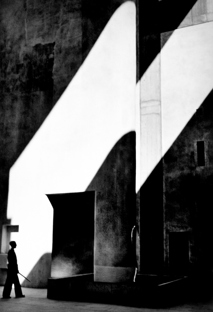 High Court of Justice, Chandigarh, 1955 The Getty Research Institute, Los Angeles. Photograph: . Lucien Hervé