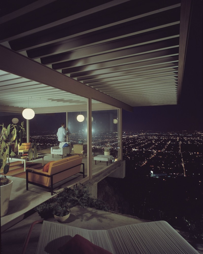 Case Study House 22__Stahl House by Pierre Koenig