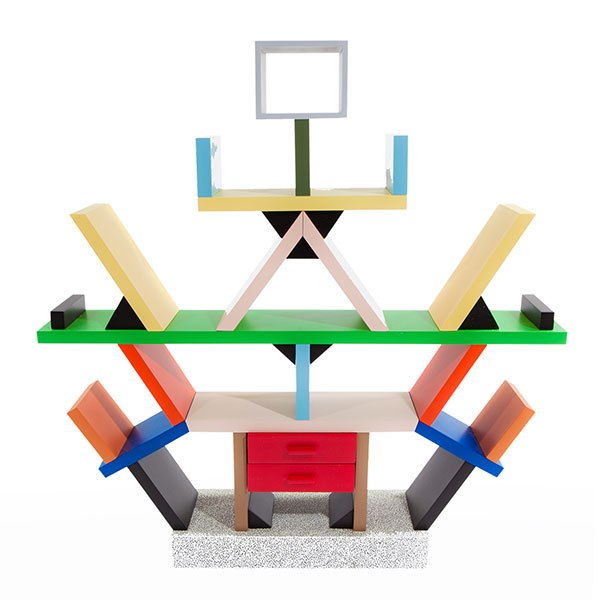 Carlton room divider by Ettore Sottsass Jr. for Memphis Koenig & Clinton and Joe Sheftel Gallery