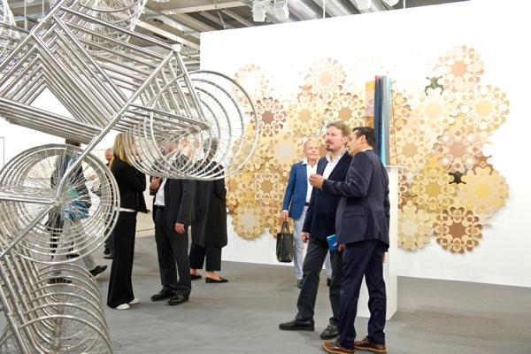 Neugerriemschneider's Booth @ Art Basel Miami (MCH Messe Schweiz (Basel) AG)