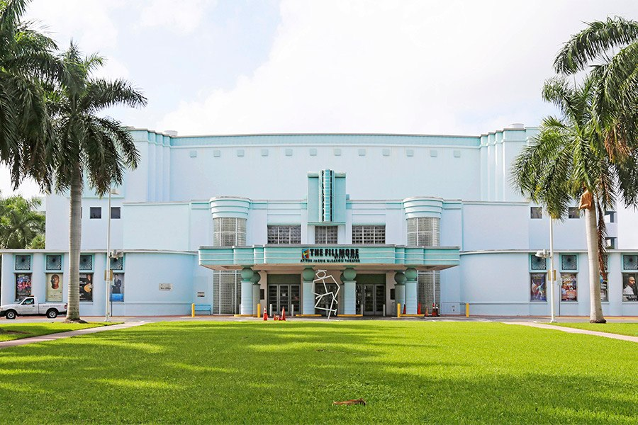 Originally called the Miami Beach Municipal Auditorium, this Art Deco gem was renamed the Jackie Gleason Theater when the entertainer moved his variety show here in the 1960s. (It's now called the Fillmore Miami Beach at the Jackie Gleason Theater.)