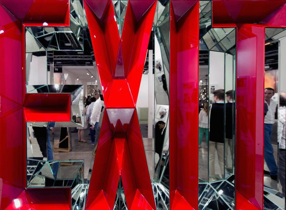 """Exit"" Art Piece by Doug Aitken showing @ Art Basel Miami (ZumaPress-LaPresse)"