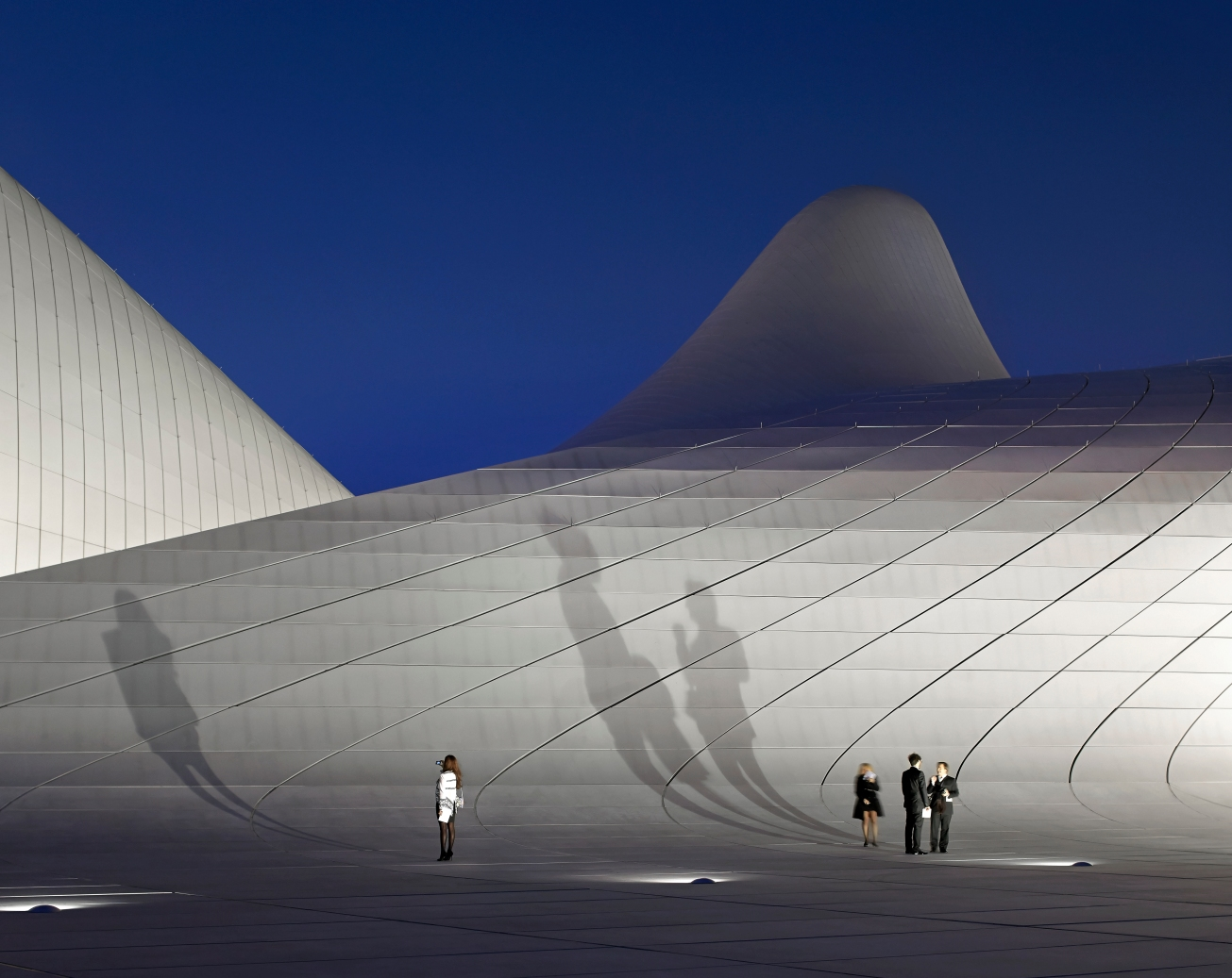 Heydar Aliyev Center Category: Buildings in use  Photographer: Hufton + Crow  Architect: Zaha Hadid Architects  Location: Baku - Azerbaijan