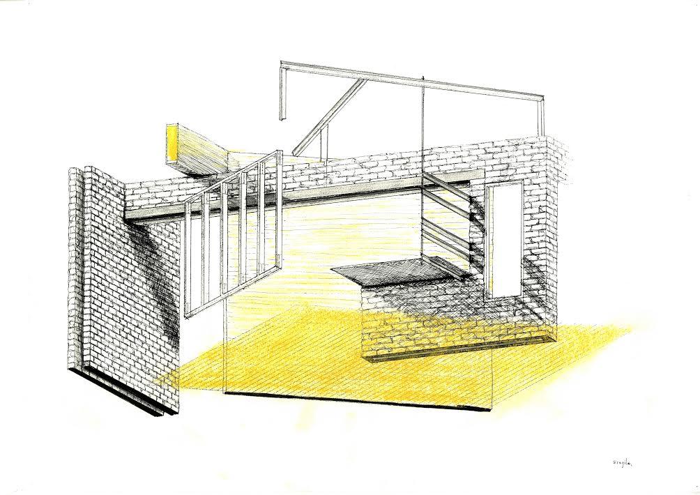 A corner of a house, Gustav Wallerius, Accademia di Architettura di Mendrisio, 2014, Atelier De Vylder