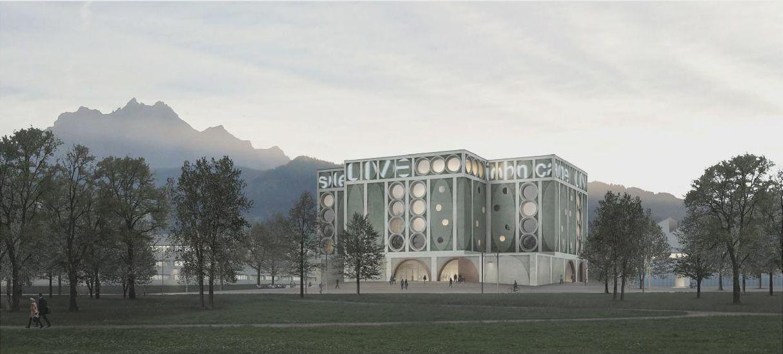 Caruso St_ John Architects _ Neubau Hochschule _ Luzern (1)