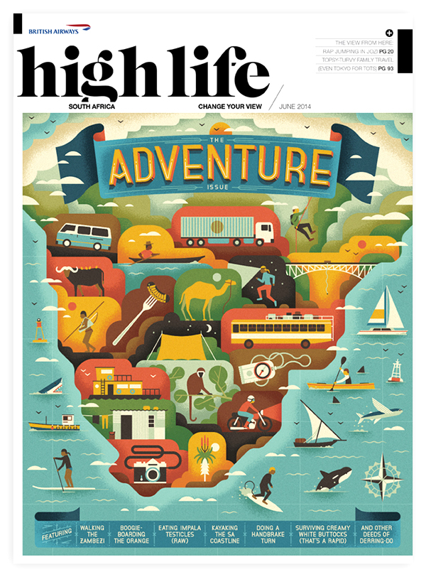 MUTI_Highlife SA - The Adventure Issue
