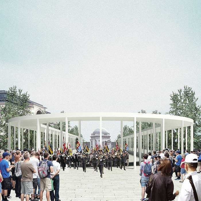 PEDRO DUARTE BENTO_STOA | PROPOSAL FOR CENTENARY SQUARE, BIRMINGHAM, UK RIBA INTERNATIONAL COMPETITION, 2014