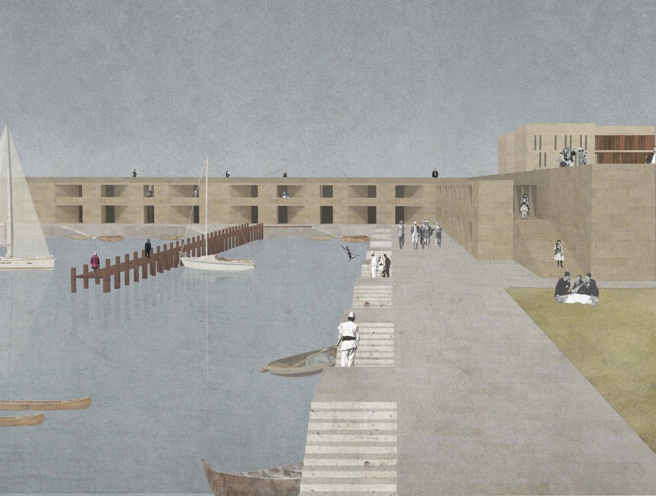 Baazar Port, Marson Korbi, Polytechnic of Bari