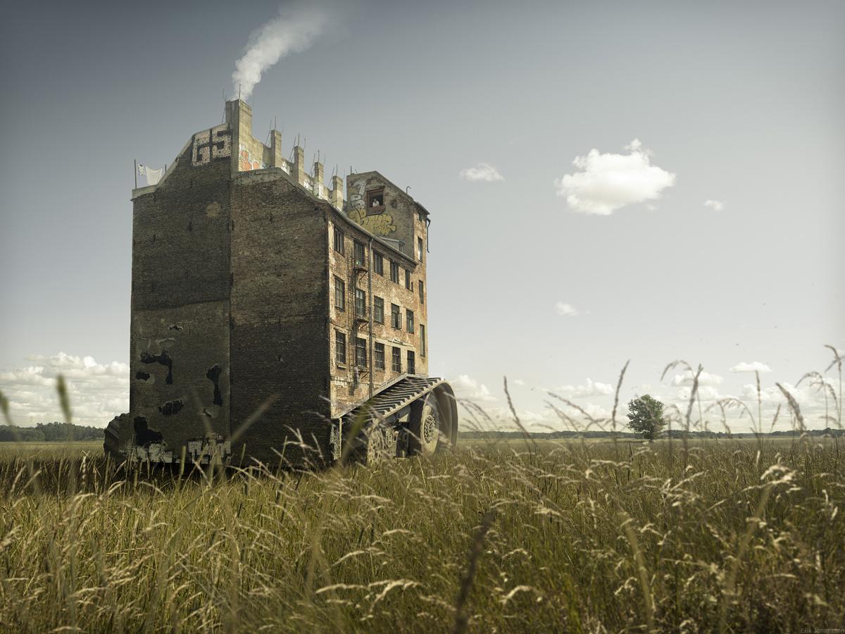 Erik Johansson_escapinghouse