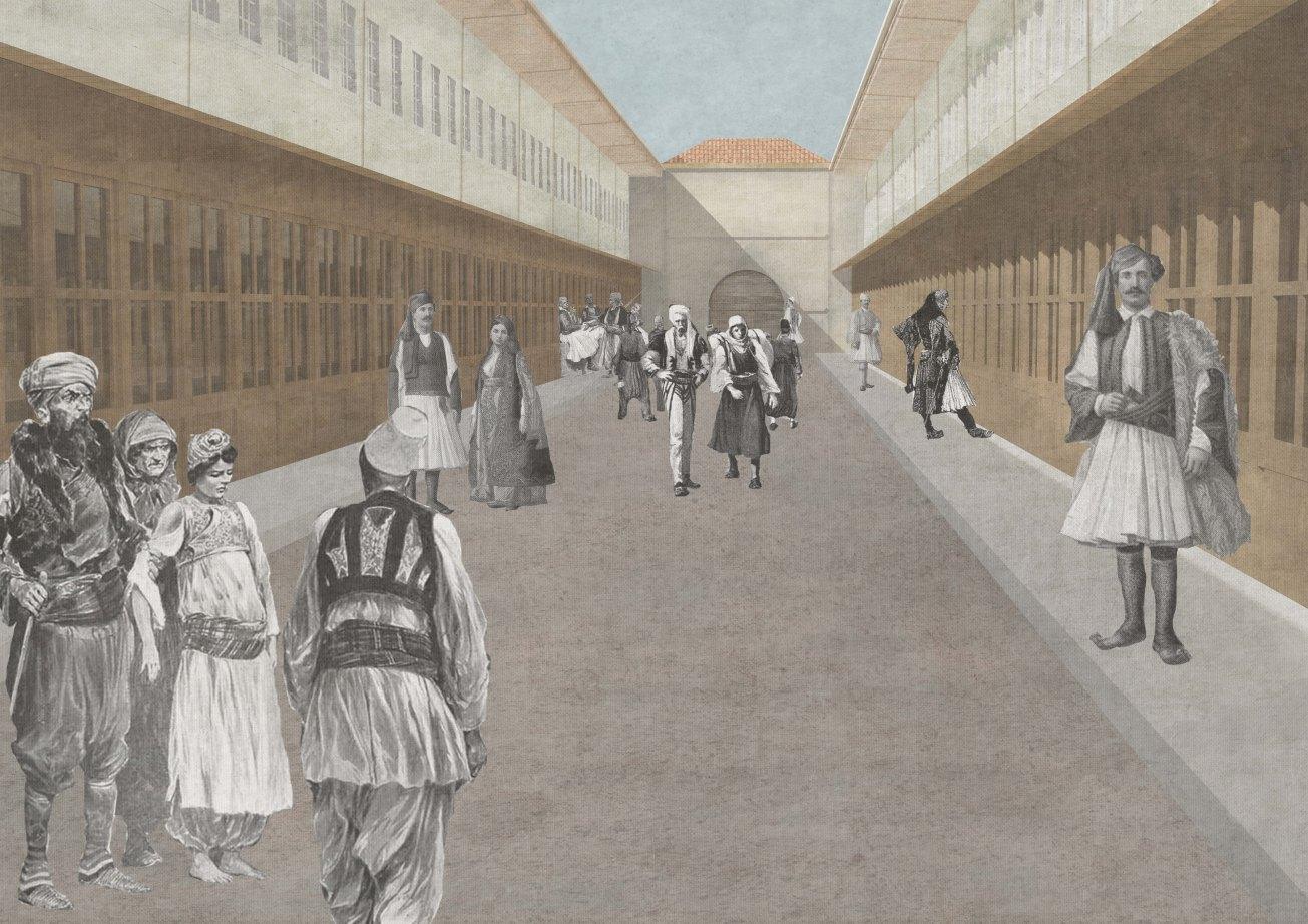 Old baazar shops 2, Marson Korbi, Polytechnic of Bari