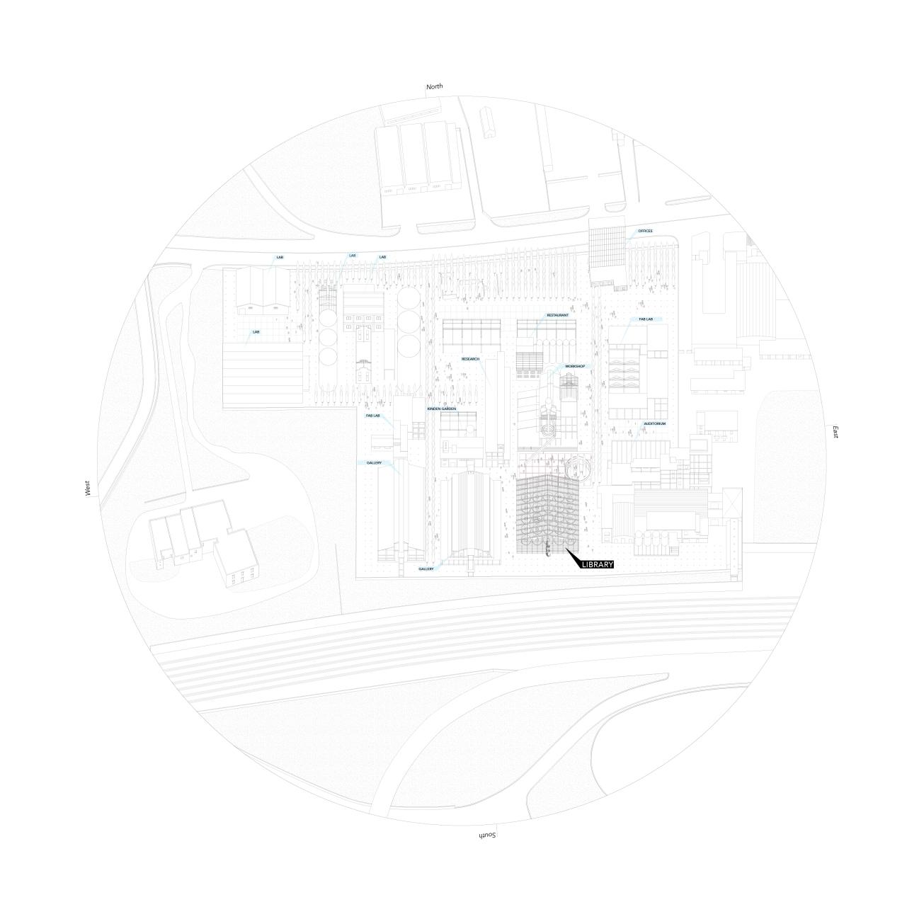 Library Masterplan,Pierluigi Bardi Benedetta De Mitri, Academic