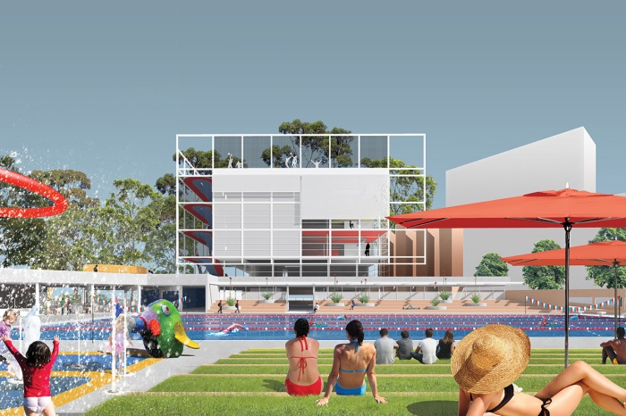 Green Square Aquatic Centre and Gunyama Park, Sydney_Supercontext in collaboration with Kevin Liu