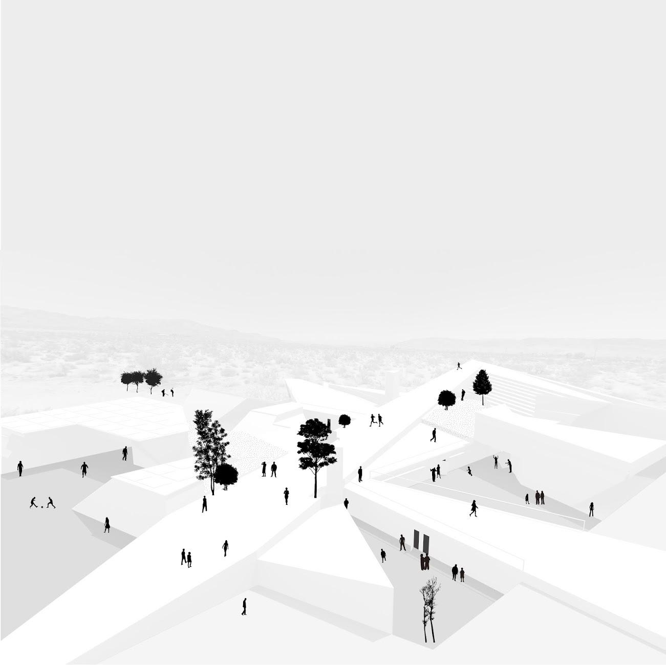 Anna Budzinskaya_Educational Desert Center_Perspective_Cal Poly Pomona