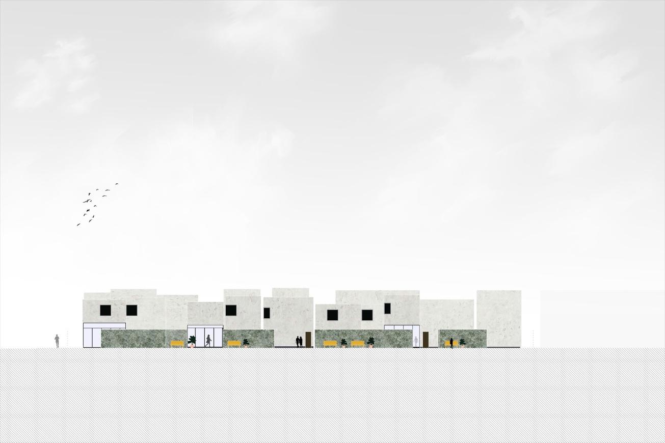 Anna Budzinskaya_Pasadena Housing_Elevation_Cal Poly Pomona