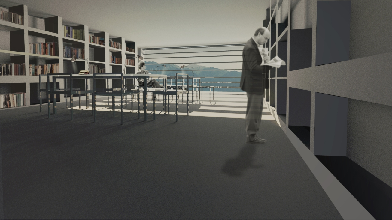 Library_ Anna Vasileiou_5th year_School of Achitecture AUTH