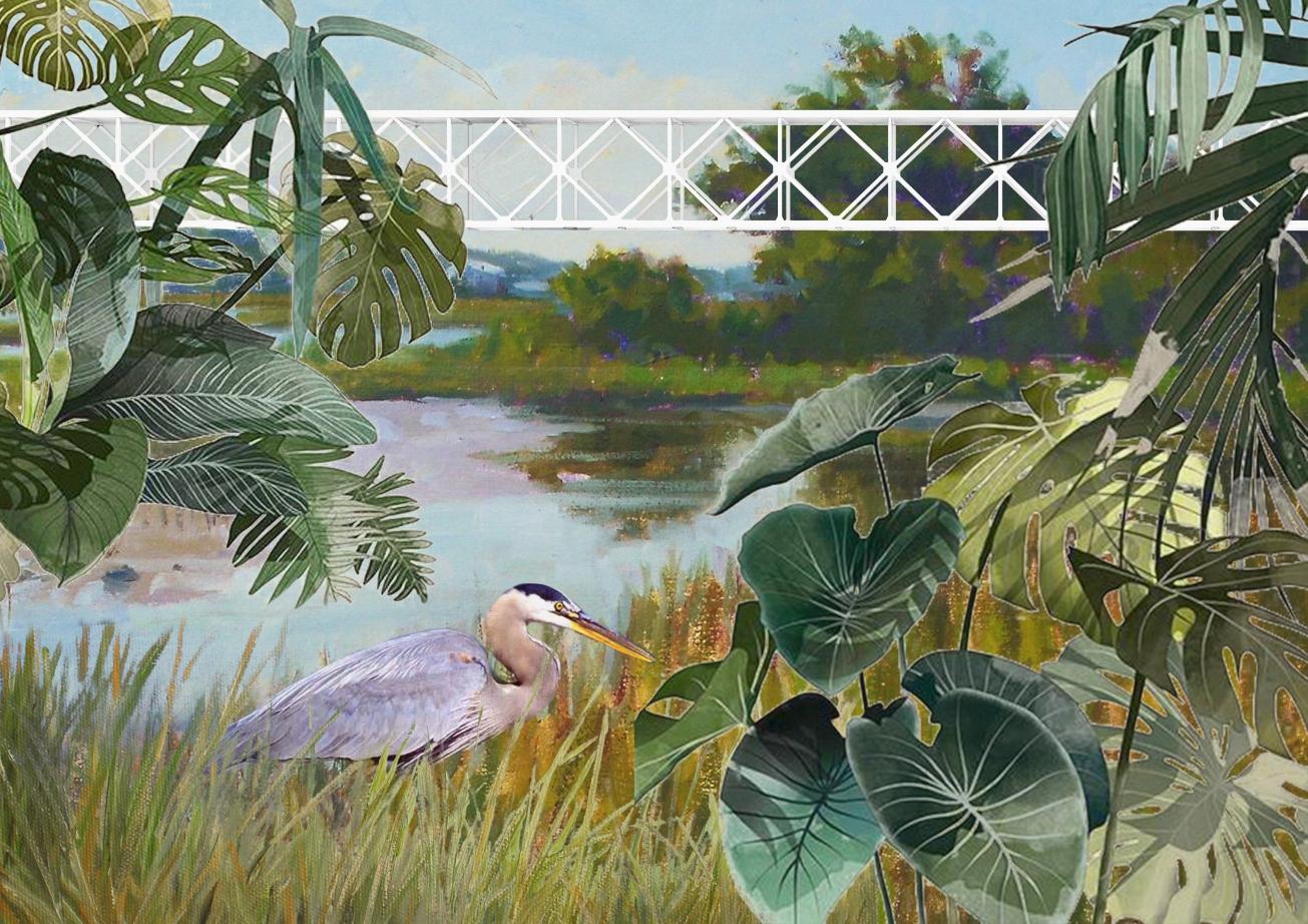 PerceptionofalandmarkViewfromwaterlandstation_BrygidaZawadzka,DuongVuHong_studentsTUDelft_Complexprojects_AnatomyofaLandmark_Inbetween