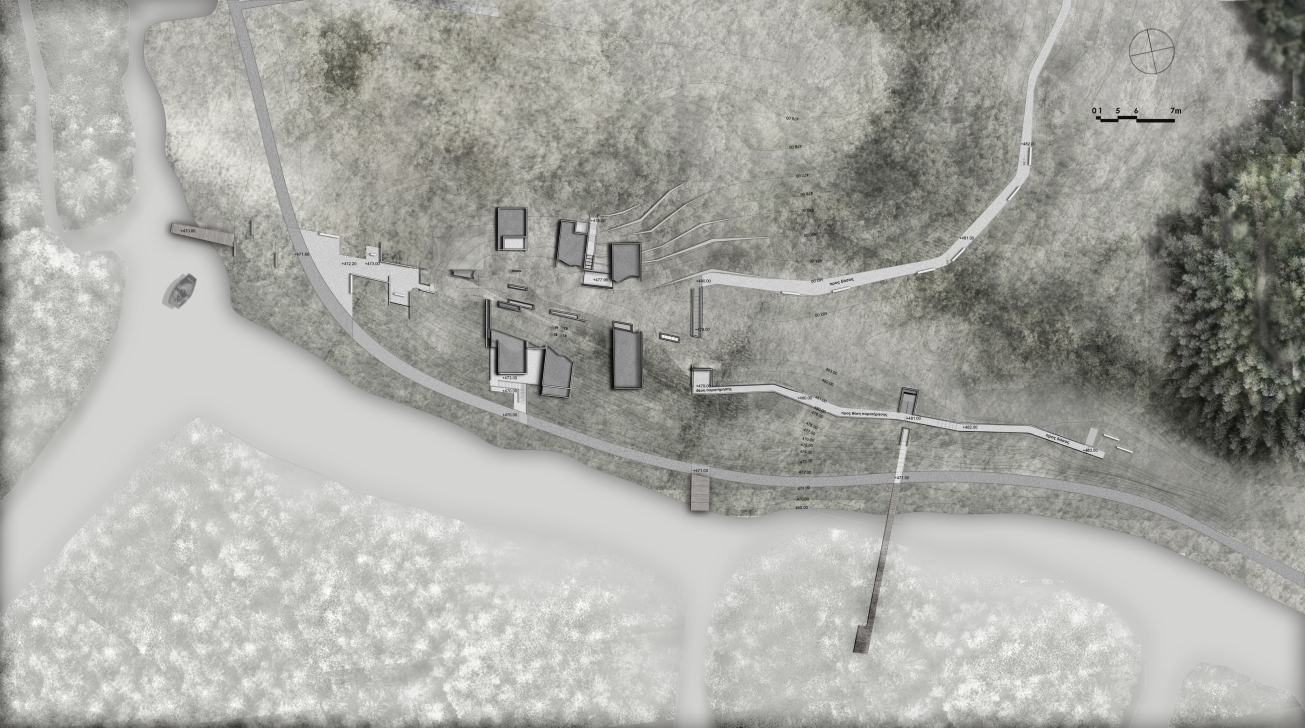 Site plan_ Anna Vasileiou_5th year_School of Achitecture AUTH