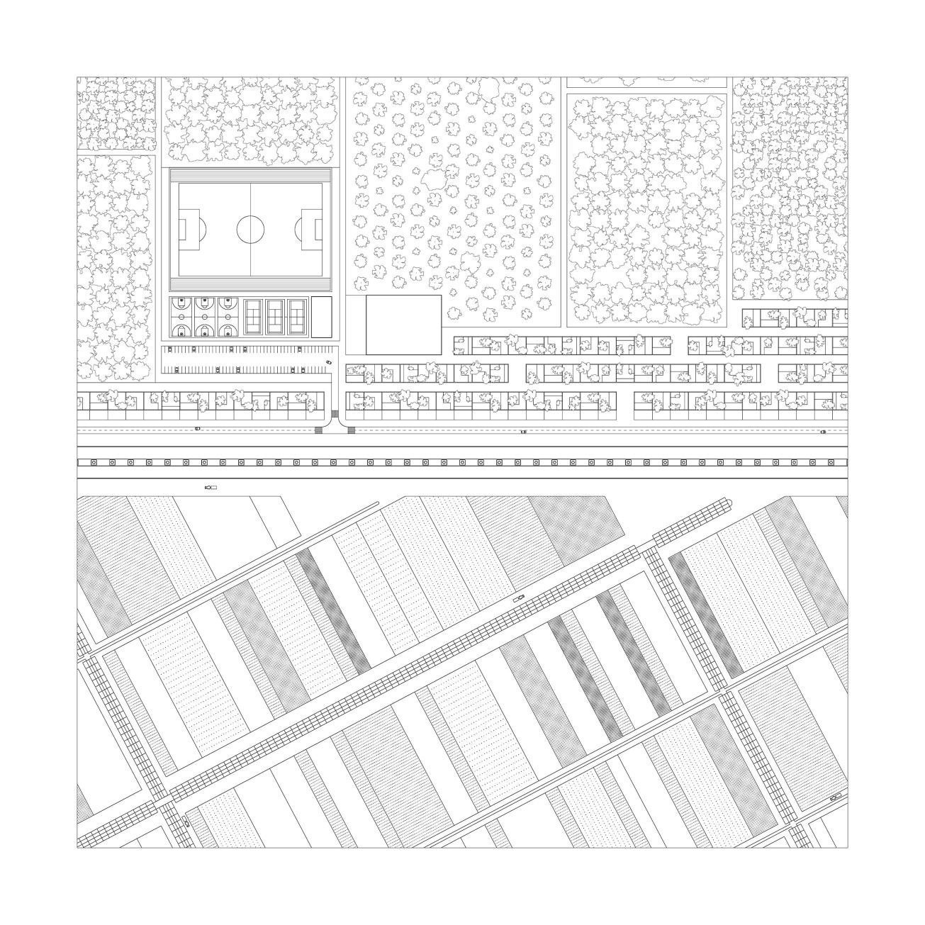 Villages 04 Roof Plan - Cebolla, Toledo
