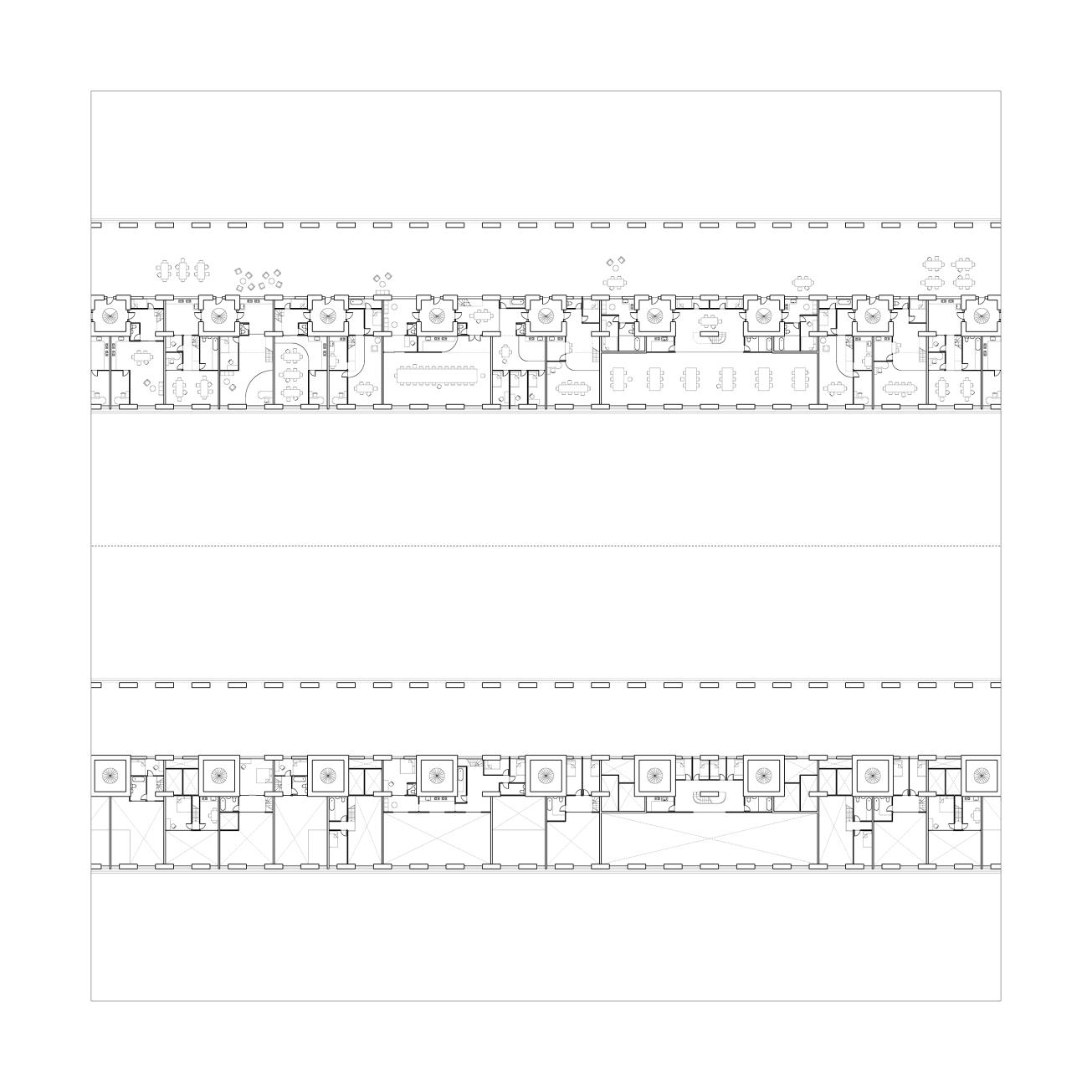 Villages 05 Typical Plan - Ground Floor and Mezzanine
