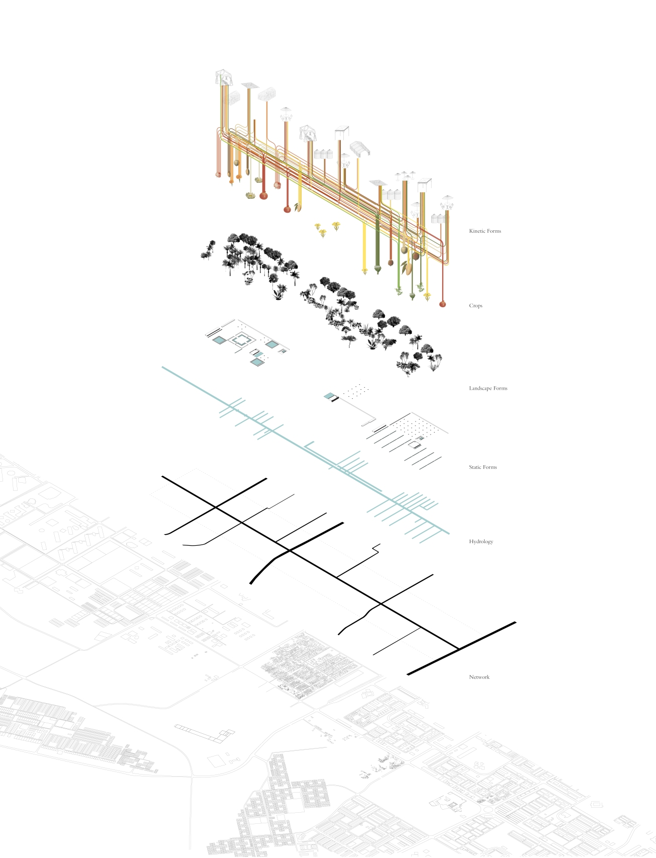 'Exploded Axonometric'_Katie Dolphin_2016_UBC_Graduation Project