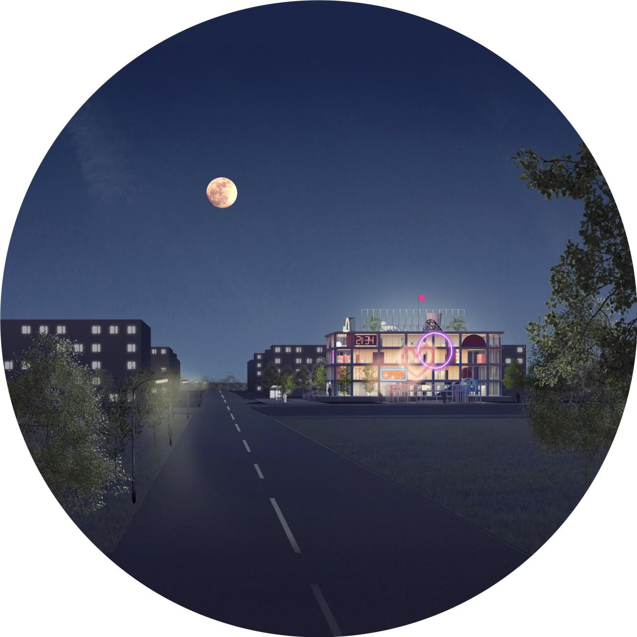 Voshod_Night_view
