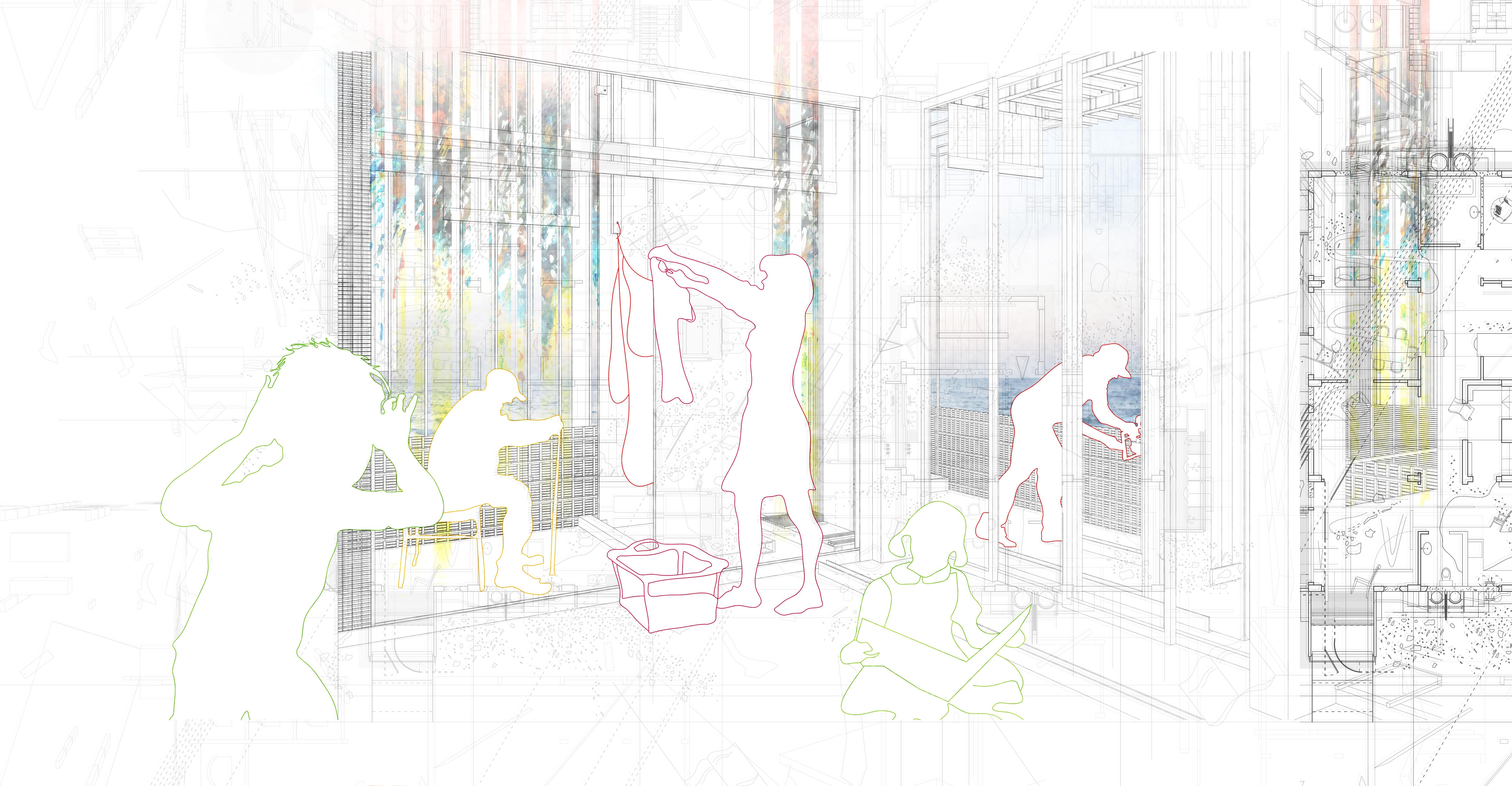 7. Re-constructed Rituals, Rafaella Christodoulidi, Postgraduate (MArch Year I University of Westminster)