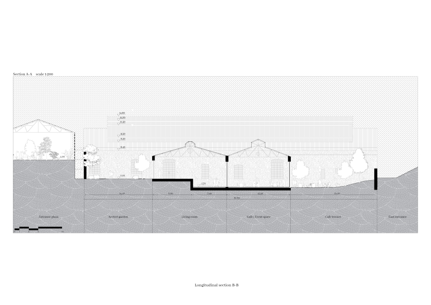 11_ RE-LINK, Drawings_Section 1, Brygida Zawadzka, Student of Master program in TU Delft, Heritage&Architecture