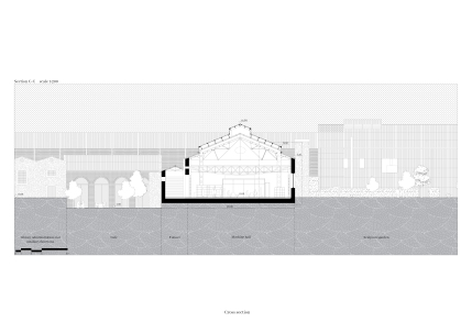 11_ RE-LINK, Drawings_Section 3, Brygida Zawadzka, Student of Master program in TU Delft, Heritage&Architecture