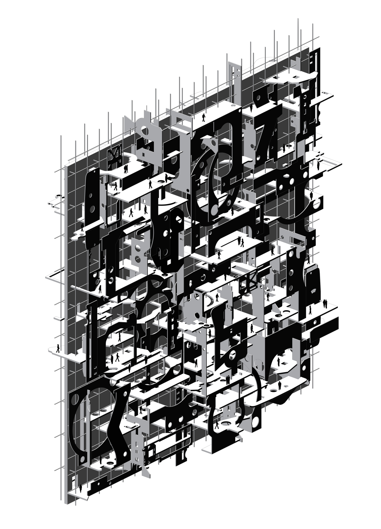 3. axonometric