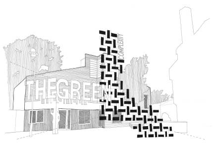 02. Facade Study, Chen Man, Thesis Project (Final Year Masters, University of Nottingham)