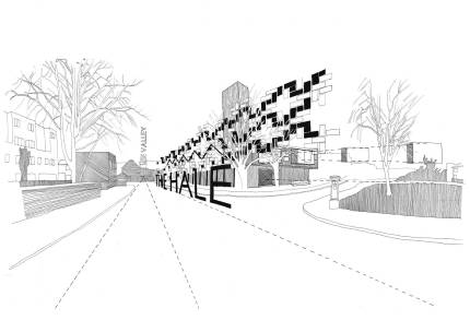 03. Facade Proposal, Chen Man, Thesis Project (Final Year Masters, University of Nottingham)