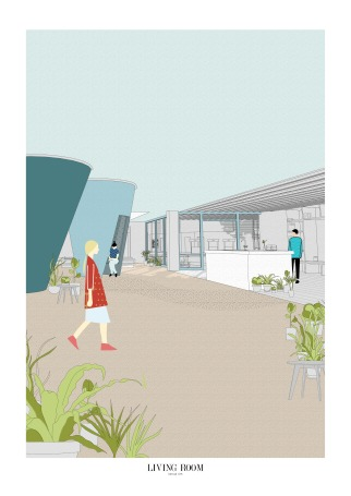 16. Mental Health Cafe View, Chen Man, Thesis Project (Final Year Masters, University of Nottingham)