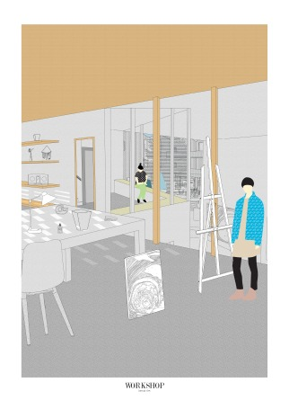 17. Workshop View, Chen Man, Thesis Project (Final Year Masters, University of Nottingham)