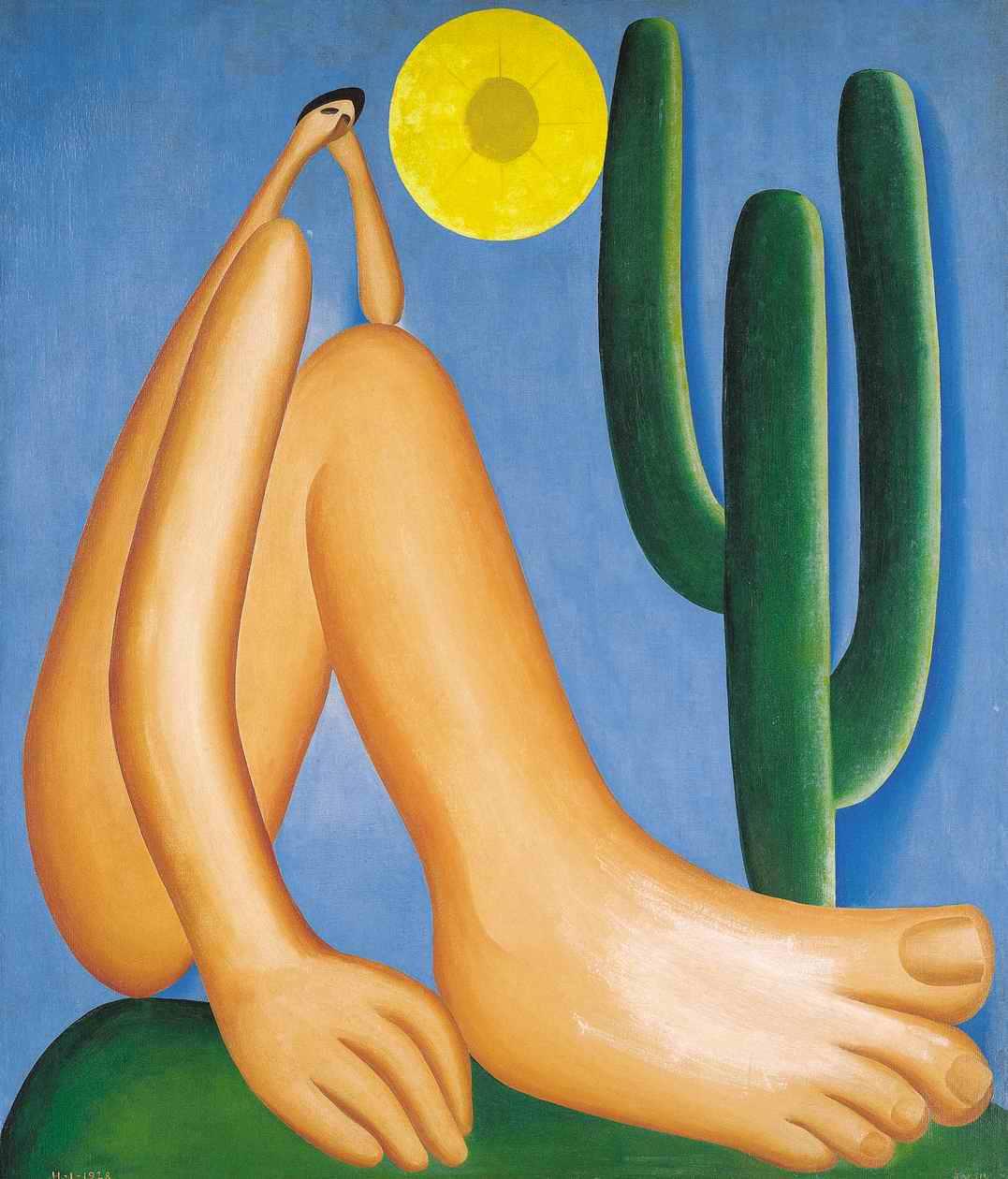 Abaporu, 1928 - Tarsila do Amaral