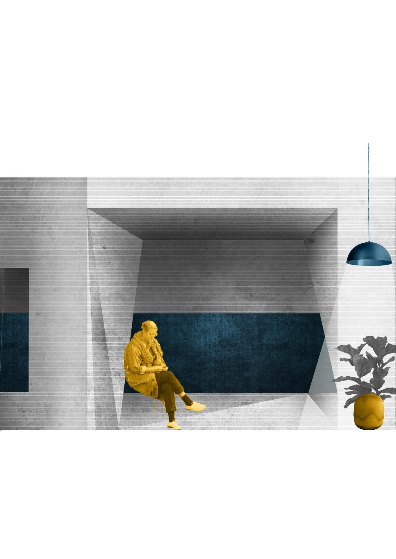 BasementInterior, Evgenia Vlachaki, TUDelft MSc Architecture, Architecture and Public Building