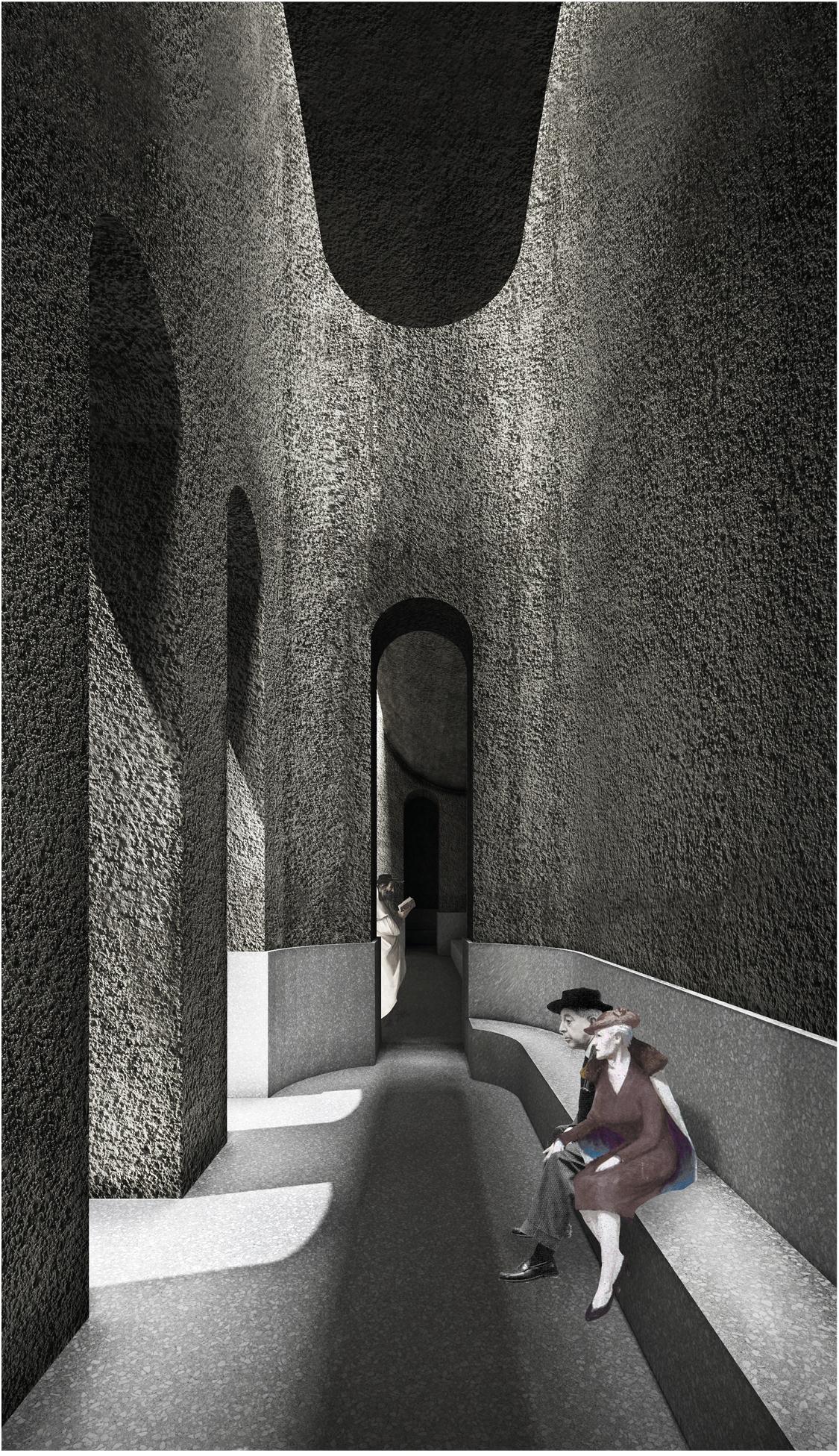 Interior Image_Edoardo Cappella, Vittorio Cassabgi, Marco Petrangeli_Unversità La Sapienza__Competition