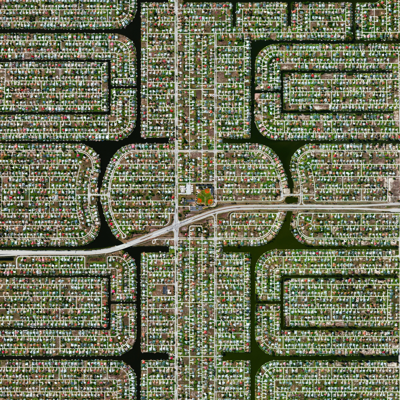 Residential development Cape Coral, Florida