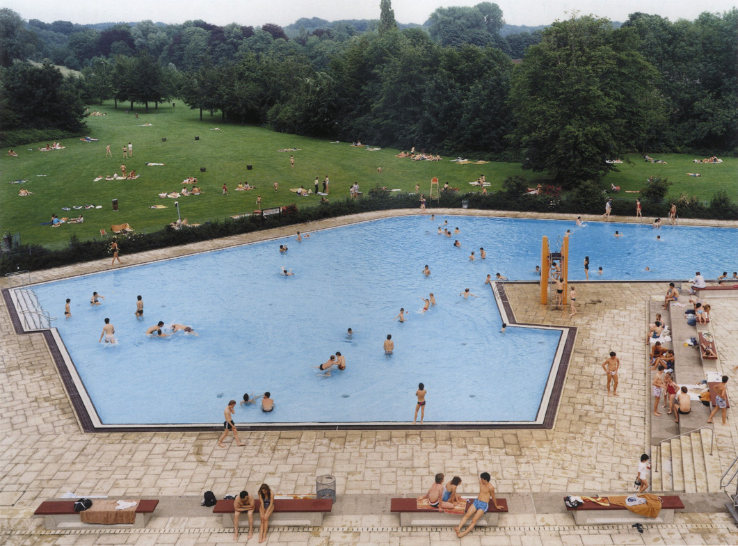 Swimming Pool, Ratingen, 1987
