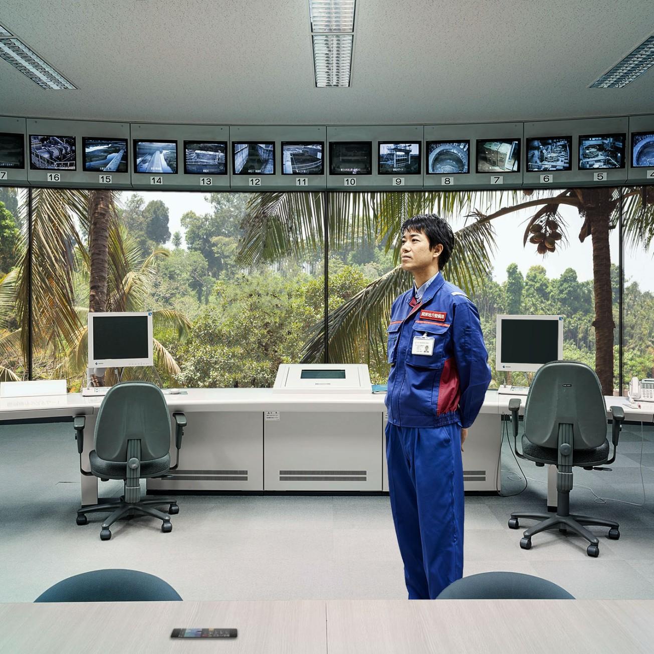 KooZArch_© Tommaso Maserati_Collage Control Room
