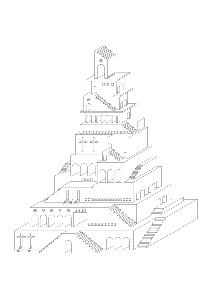 The Tower of Babel outline