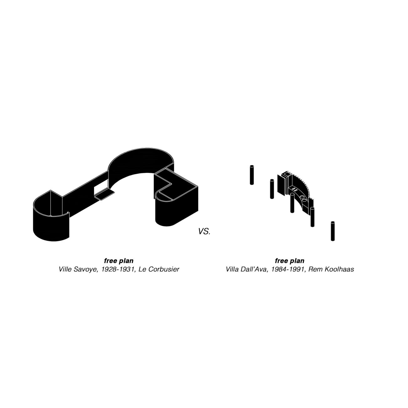 08_Free-plan_Ville Savoye vs Villa Dall'Ava_Alex-Duro_2016_Master-Degree-in-Advanced-Architecture-Projects_ETSAM