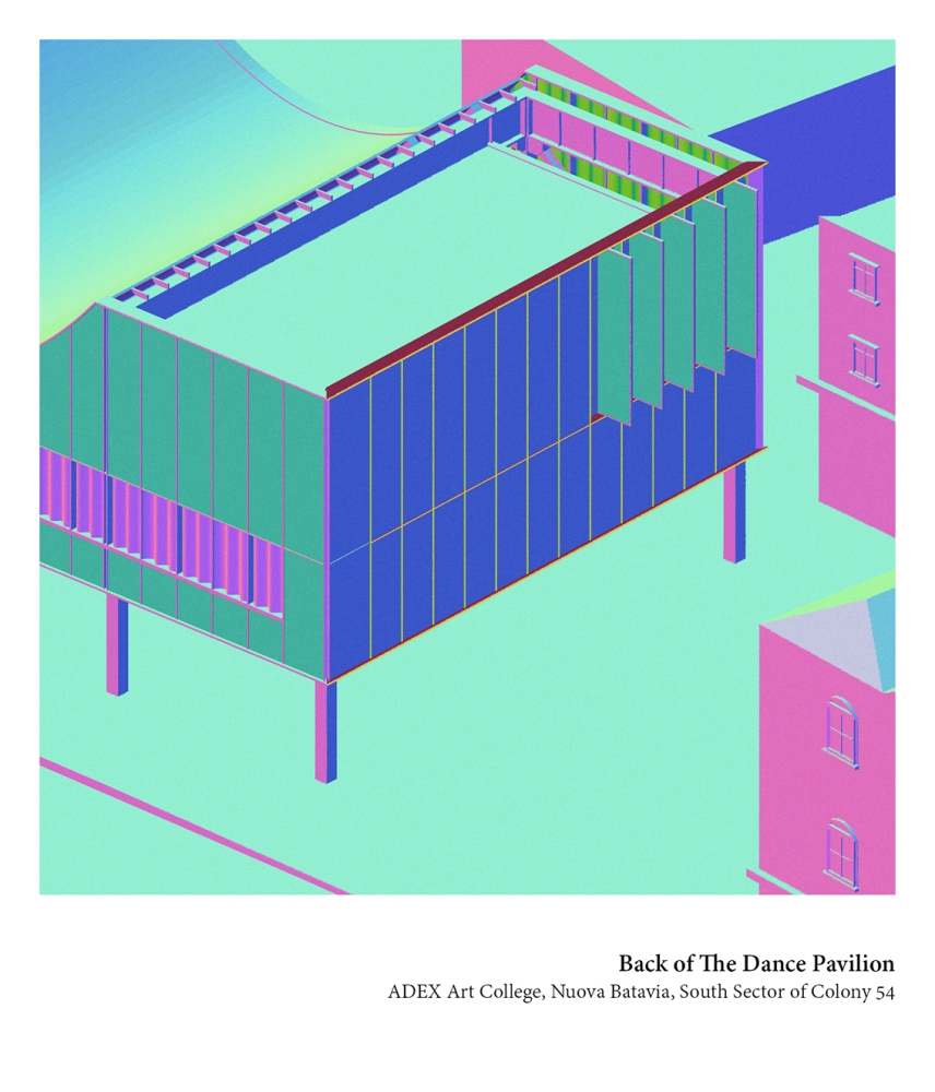 Back of the Dance Pavilion, Luigi Savio, (ab)Normal Illustrator